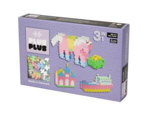 Plus-Plus Mini pastel 480, 3in1